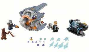 Super Heroes Lego Avengers La Ricerca Dell'arma Suprema Di Thor,, 76102