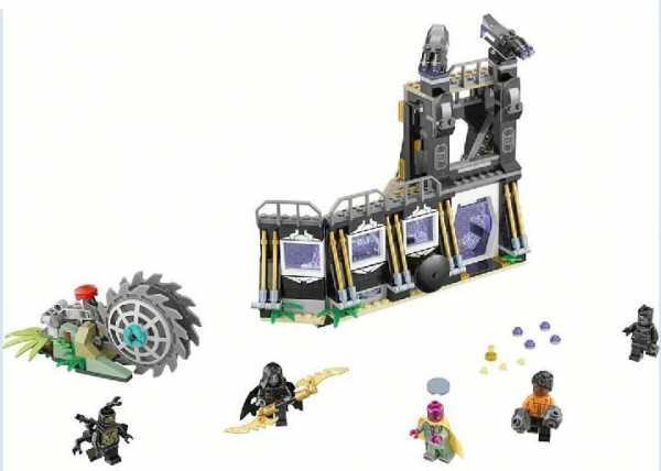 Lego Super Heroes 76103 - Avengers Set Costruzioni - Face Off