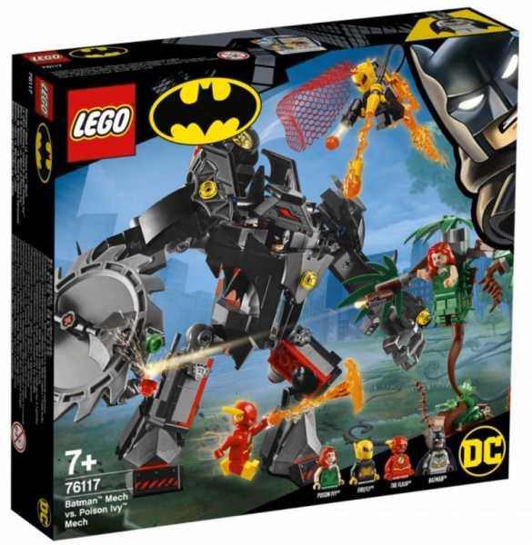 Super Heroes Lego Batman Vs. Mech Di Poison Ivy Gioco Per Bambini, Colore Vari, 76117