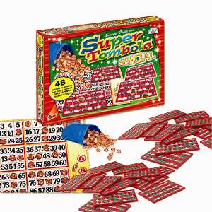 Glooke Selected- Arti GRAFICHE RUGGERO Tombola Special (48) Giochi Da Tavolo, Multicolore, 8000888000934