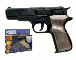 Villa Giocattoli Pistola Panther Black 1250, Multicolore, 849018