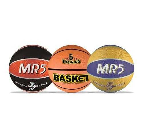 Mondo 13139 - Pallone Basket Cucito, Colori Assortiti