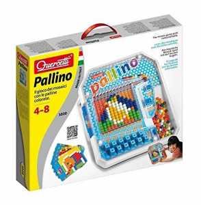 Quercetti 01020 -  Pallino Il Gioco Dei Mosaici Con Le Palline Colorate