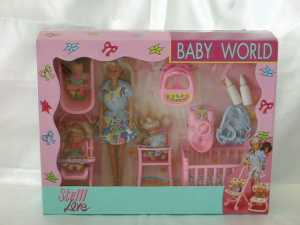 Simba Love Baby World (Inclusi Steffi, Evi, Timmy, Bebè), 105736350