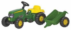 TRATTORE ROLLY KID J DEERE E R - Rolly Toys (012190)