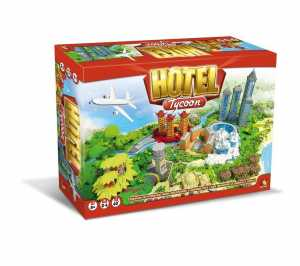 GIOCO HOTEL TYCOON - Asterion - Asmodee (8940)