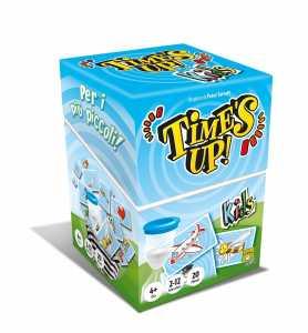 Asmodee 8214 - Gioco Time's Up Kids, Edizione Italiana