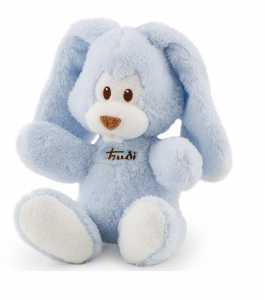 Trudi 18131 - Coniglio Cremino, 26 Cm, Azzurro