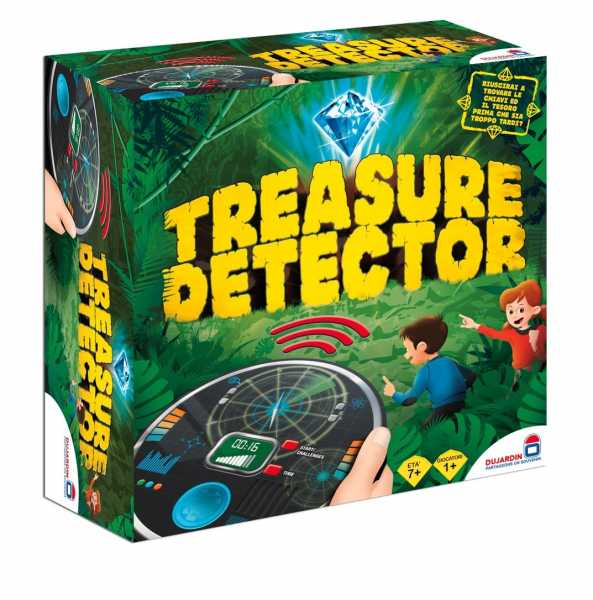 Rocco Giocattoli Treasure Detector Giochi Da Tavolo, Multicolore, 8027679060441