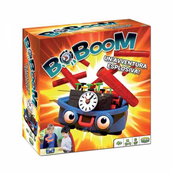 Rocco Giocattoli Boboom Giochi Da Tavolo, Multicolore, 8027679060458