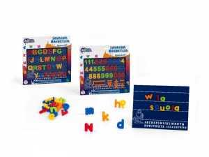 Globo Toys Globo – 30434 3 Assorted Kidea Lavagna Magnetica Con Lettere E Numeri