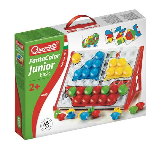 Quercetti 4195 Fantacolor Junior Basic Gioco