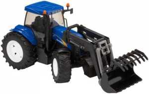 Bruder 03021, New Holland TG285 Con Caricatore Frontale