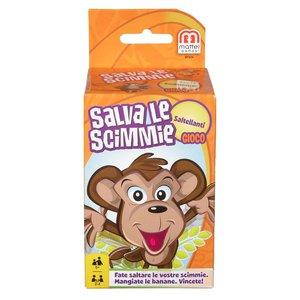 Gioco Salva La Scimmia Saltellando - Mattel (Bmm39)