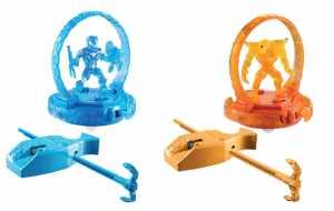 Mattel Y9483 - Max Steel Turbo Combattenti Deluxe, Confezione Da 2