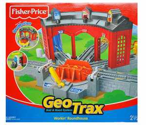 GEOTRAX TRAIN SCAMBI-MONTAGNA - Mattel (C6993)