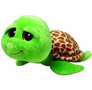 Ty 7136809 Beanie Boos - Peluche Della Tartaruga Zippy, Misura XL, 42 Cm, Colore: Verde