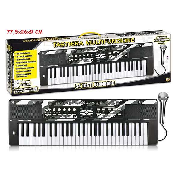 Teorema 65039 - Pianola Multifunzione Con 54 Tasti E Microfono