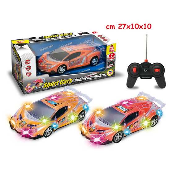 MACCHINA SPEED RACE R/C CON LUCI