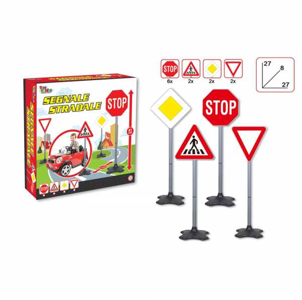 CARTELLI STRADALI CM 81 - Toys Garden (26584)
