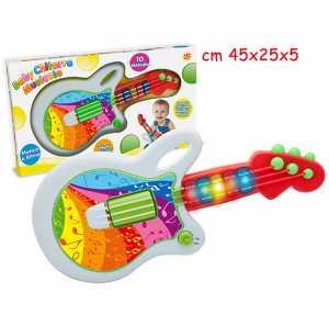 Teorema 64739 - Baby Chitarra Musicale Con Luci E 10 Melodie