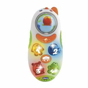 Chicco 71408 Gioco Telefonino Parlante, IT/GB