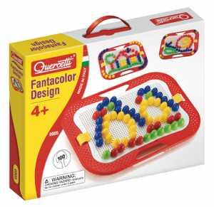 Quercetti 0905 Fantacolor Design Chiodini