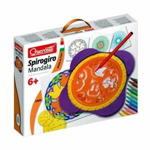 Quercetti 1680 Spirogiro Mandala Sagome Imparare A Disegnare