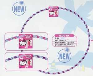 Simba 107407544 - Hello Kitty, Hula Hoop