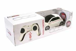 Mondo Motors 63001 Auto Radiocomandata, Nuova Fiat 500, Scala 1:24, Colori Assortiti