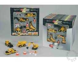 Conf 4 Mezzi Costr Cm 10 - Simba Toys (3415943)