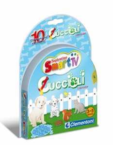 Clementoni 13532 - Cartuccia Smart TV Cuccioli