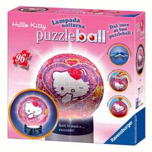 PUZZLE BALL LAMPADA HELLO 96PZ - Ravensburger (81024)
