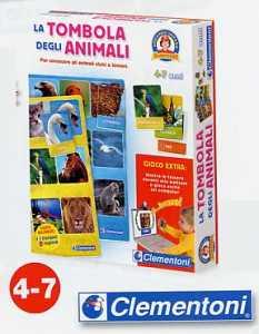 Clementoni 12690 - La Tombola Degli Animali