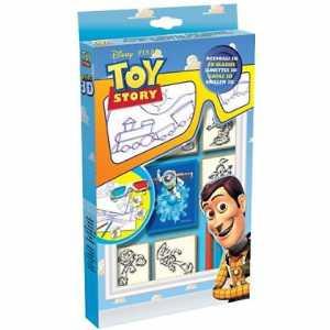 Multiprint - 6776 - Toy Story, Confezione 3D Da 5 Timbri Con Colori [Lingua Inglese]