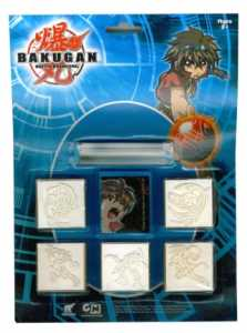 Multiprint - 5857 - Hobby Creativo - 5 Blister Pads - Bakugan