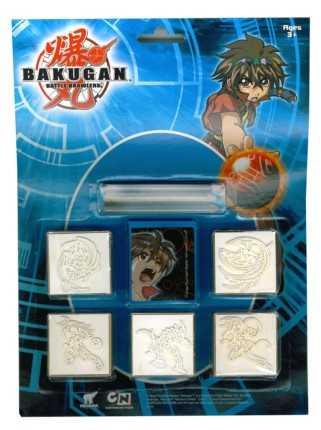 Set 5 TIMBRI BAKUGAN - Ravensburger (05857)