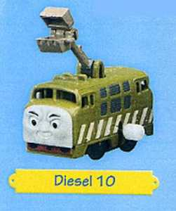 Tomy-Thomas & Friends Wind Up Diesel 10