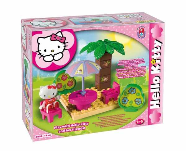 COSTRUZIONE Unico Hello Kitty-Pic Nic Set 14pz 8656