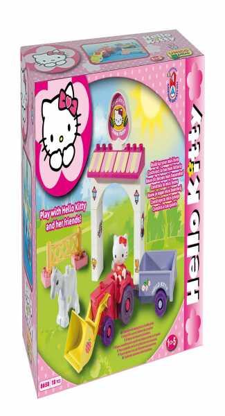 COSTRUZIONE Unico Hello Kitty-Mini Farm 18pz 8658