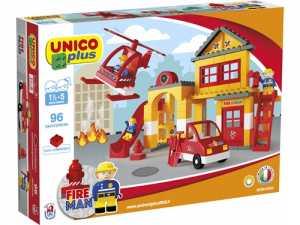 Unico- Costruzioni Lego Duplo COMPATIBILI, Colori Assortiti, 8558-0002