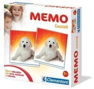 Clementoni- Memo Games Cuccioli, 12834