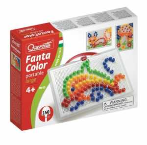 Quercetti Fantacolor Portable Large Chiodini, Multicolore, 827007