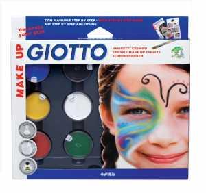 Giotto 4701 00 - Lyra, Ombretti Cremosi Per Corpo E Viso, Idrosolubili