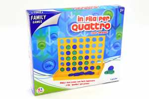 Family Games 35529 - In Fila Per 4 Maxi