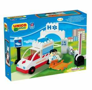 COSTRUZIONE Unico City-Soccorso Ambulanza 19pz 8543