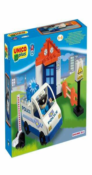 COSTRUZIONE Unico City-Polizia Auto E Acc. 23 Pz 8545
