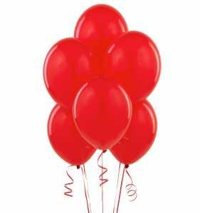 Pegaso PB032L - 20 Palloncini Tondi Large Colore Rosso