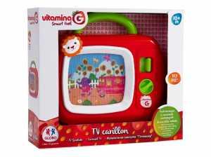 Vitamina G 05175 - Carillon TV Try Me, Rosso/Verde