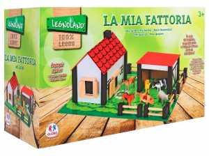 Legnoland–37772–Fattoria–in Legno Con Animali–Plastica